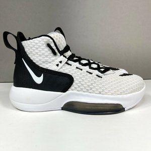 Nike Zoom Rize TB Team Men's Size 6 Basketball Shoes White Black BQ5468-100
